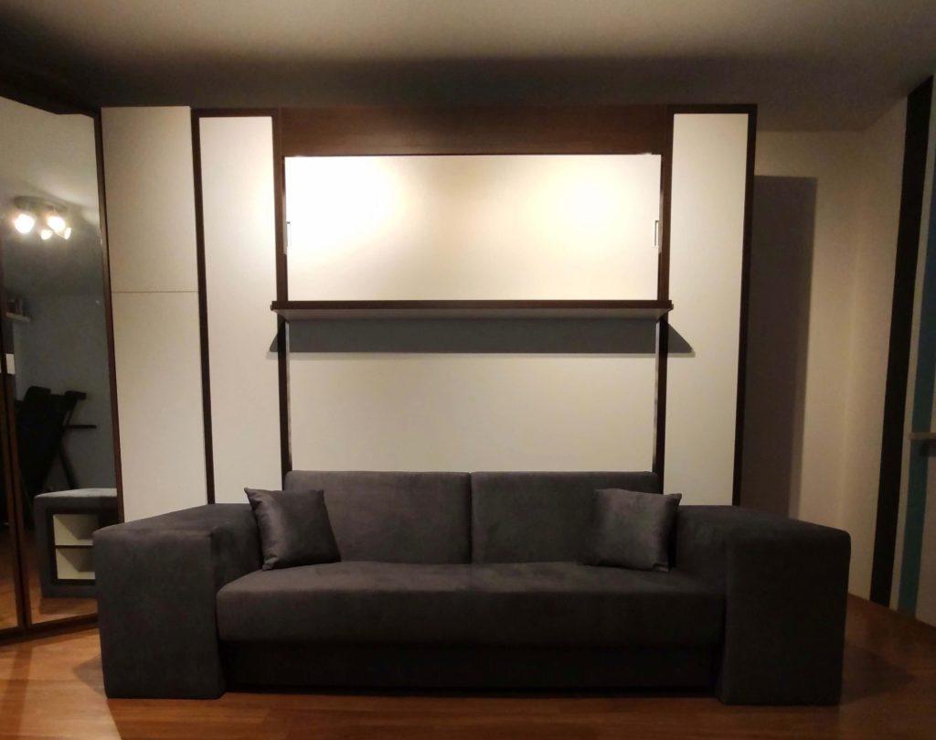 łóżko sofa do salonu