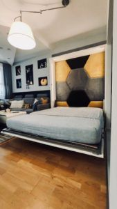 łóżka wielofunkcyjne ze stołem